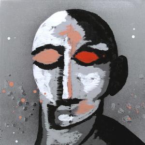 Fayum Head XII. Serie cabezas de Rorschach III