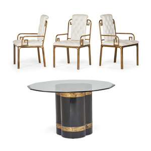 Dining Table And Three Armchairs, USA