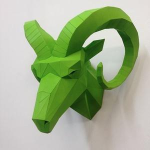 Ram Head (green)