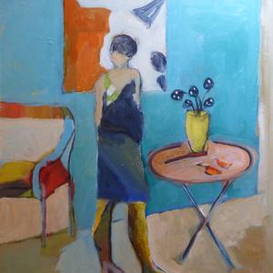 Blue on Blue Interior