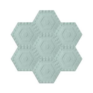 Honeycomb Sky Solid
