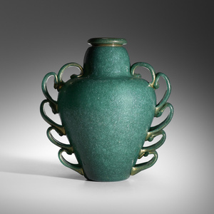 Rare and Important Pulegoso vase, model 3273