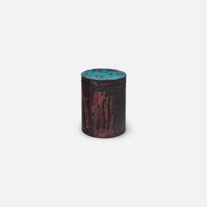 Copper Skin Series Cylinder Stool/Side Table