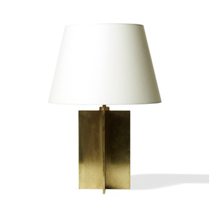 """Pair of """"Crosspiece"""" table lamps"""