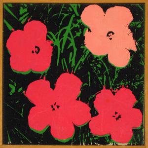 Warhol Flowers 1964 (pink)
