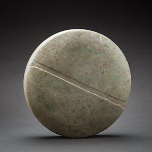 Bactria-Margiana Stone Disc Idol