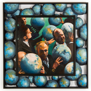 N.G. Nazianzen- Men with the World in Their Hands II
