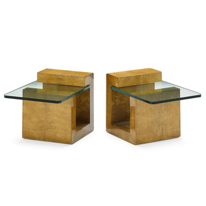 Pair Of End Tables, New York