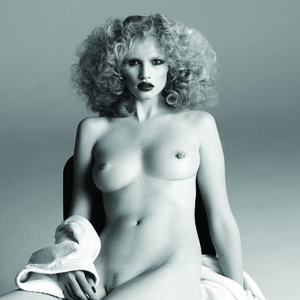 Lara Stone as Candy Darling—Purple Magazine