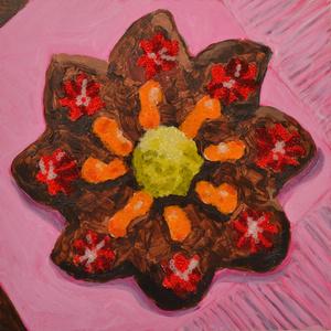 Gingerbread Pinwheel