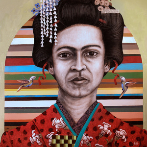 Frida as Geisha