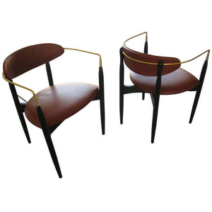 Gamine Pair Of Arm Chairs