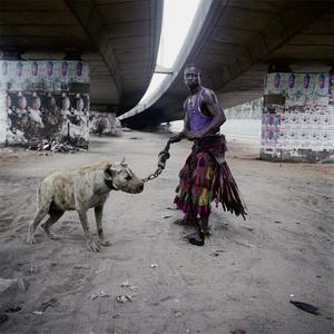 Abdullahi Mohammed with Mainasara, Lagos, Nigeria