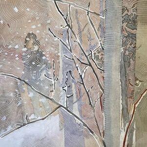 Woman in Winter/Walking in Woods