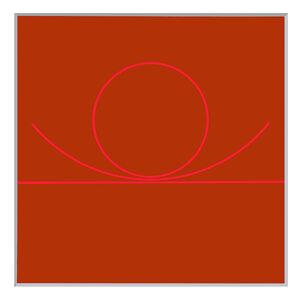 Von der horizontalen zum Kreis
