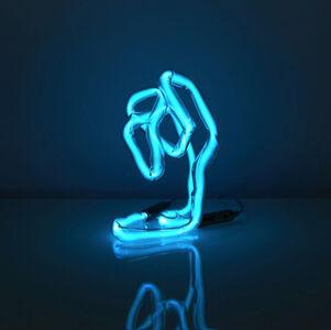 Neon Desk Light (blue)