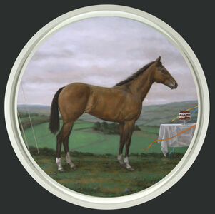Landscape with Prize Horse