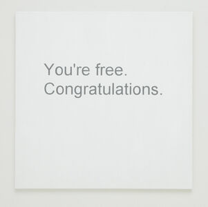 Break-up Text Painting: You're Free