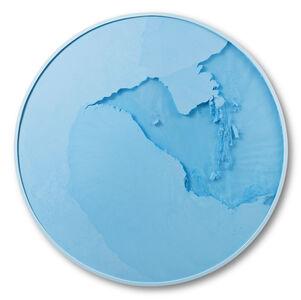 Cercle Bleu Lumière