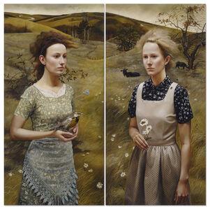 Rural Sisters II Diptych