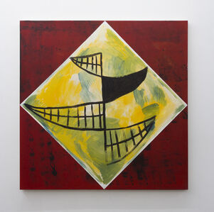Untitled (Yellow Red Smile)
