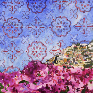 Blooms over Positano