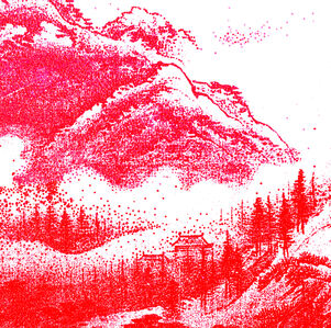ARTIFICIAL LANDSCAPE– Luminous Red Small