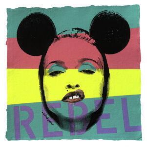 Pop Icon No. 96 - Rebel