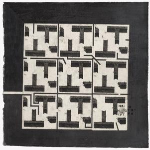 square garden black