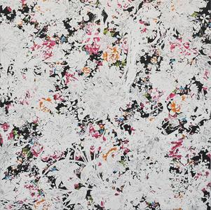Echoes Crystallization Flower black
