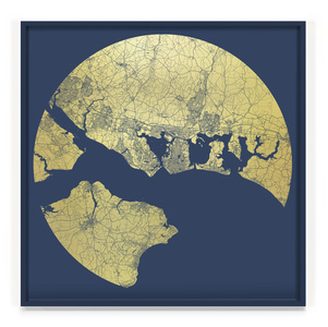 Portsmouth Mappa Mundi, America's Cup