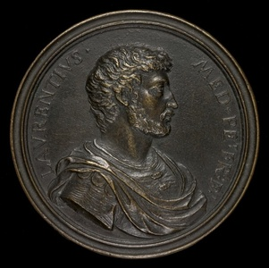 Lorenzino de' Medici, 1514-1547, Son of Pierfrancesco II [obverse]