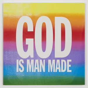 GOD IS MAN MADE