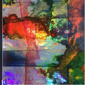 Untitled (Acid Flag I) detail 2