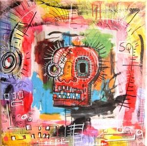 Black Skull extended Basquiat
