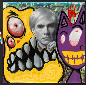 """Late Night"" Andy Warhol Portrait"