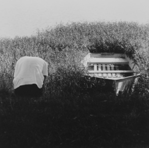Untitled (Figure and Boat)