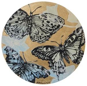 Butterflies in Gold