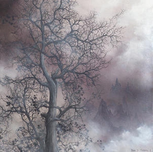 A Mist Shrouded Tree
