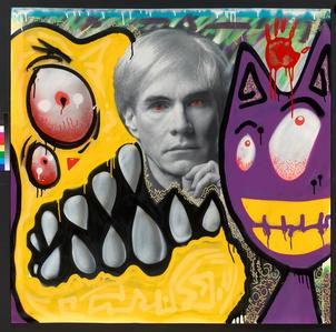 """Late Night"" Andy Warhol Portrait"