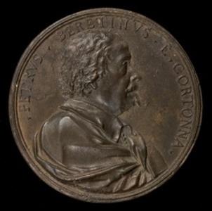 Pietro da Cortona, 1596-1669, Italian Painter [obverse]