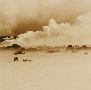 Iceland #5, Blue Lagoon Smoke