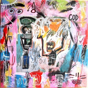 Baptism extended of Basquiat