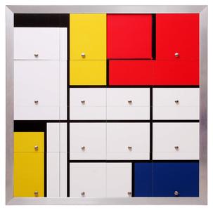 Homenagem a Mondrian I (Homage to Mondrian I)