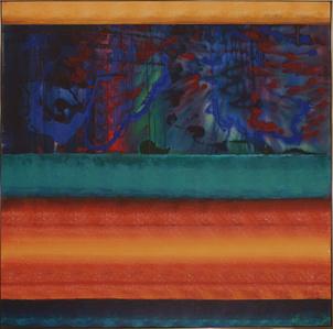 Blue Painting in Sharpsville- Reincarnation