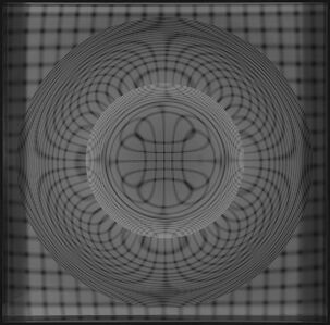 Esfera dinámica (Negro)