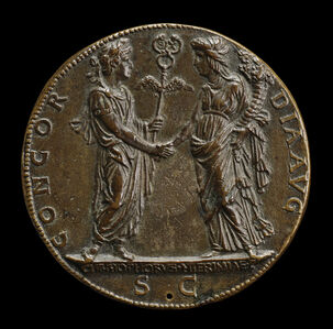 Constantine and the Church [reverse]