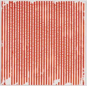 "Untitled (1-2011, ¼""-¼"")"