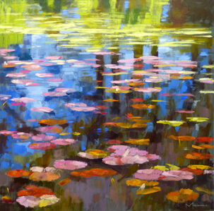 Waterlilies and Reflections