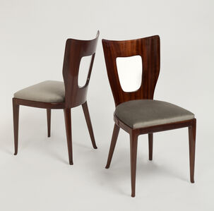 Rare Set of Triennale Dining Chairs - 8